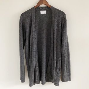 Men Urban Outfitters Your Neighbors Gray Cardigan